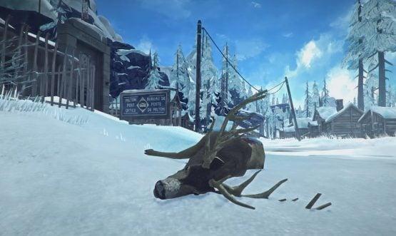 The Long Dark Dead Deer