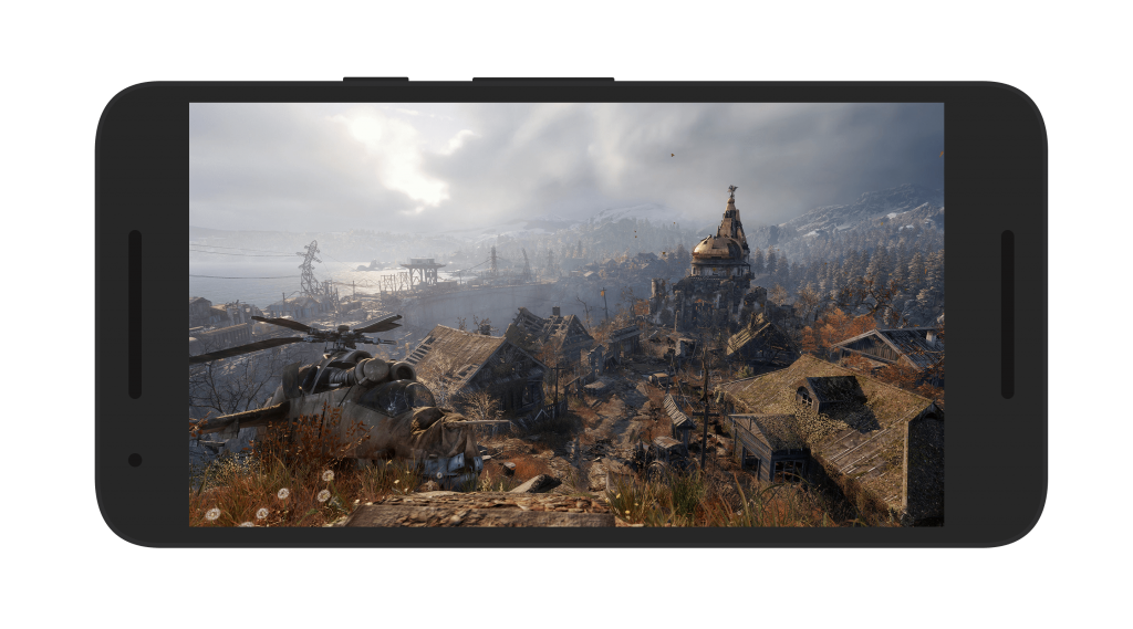 Metro Exodus Android Game Screen