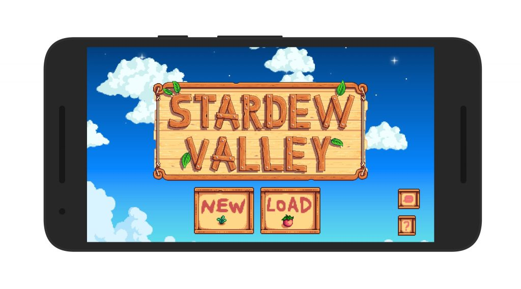 Stardew Valley Android Loading Screen