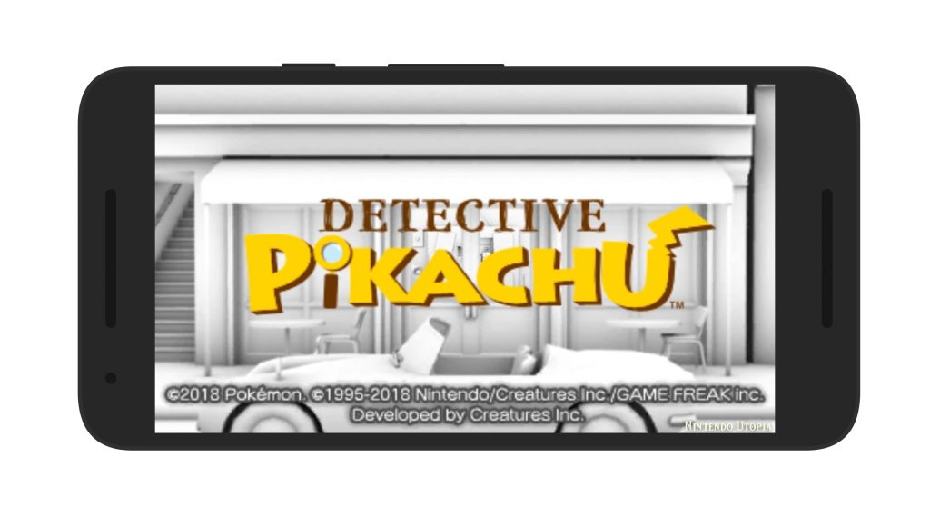 Detective Pikachu Android Loading Screen