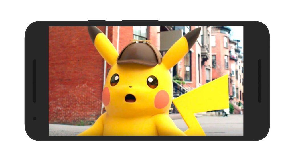 Detective Pikachu Android Cutscene