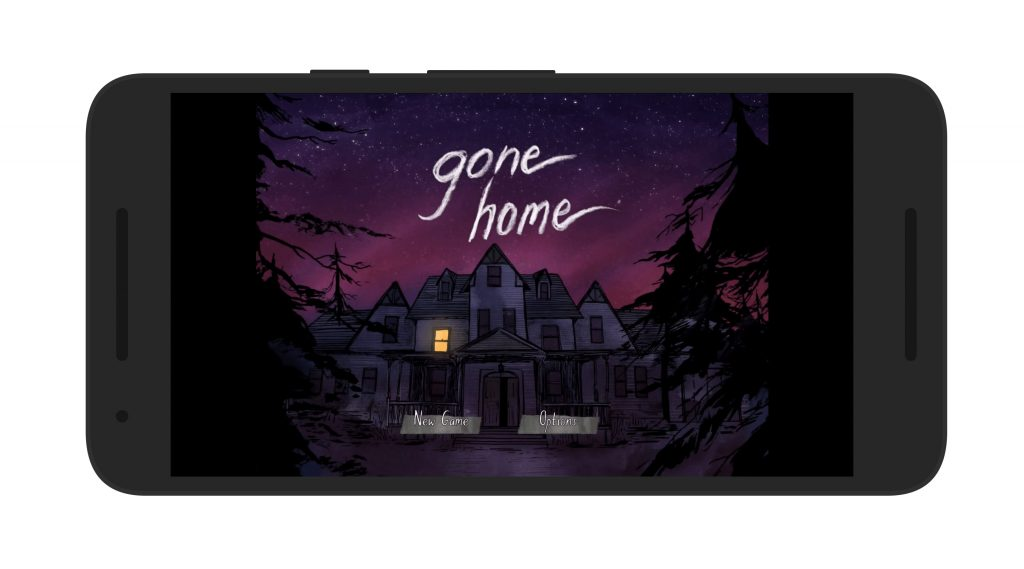 Gone Home Android Game Screen