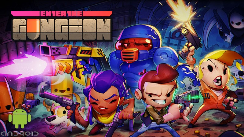 Enter the Gungeon Android Banner