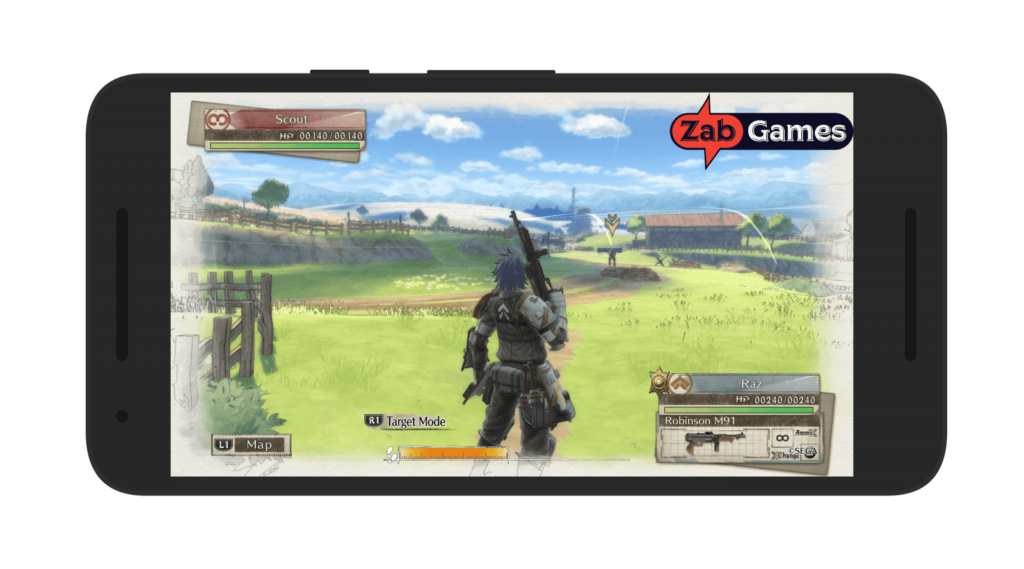 Valkyria Chronicles 4 Android Gameplay