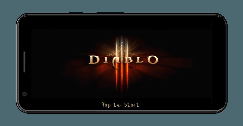Diablo 3 Start Screen