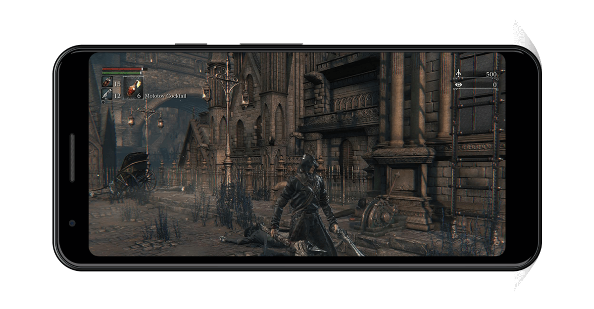 Bloodborne Android Gameplay